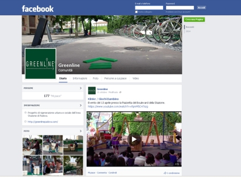 GREENLINE ON FACEBOOK